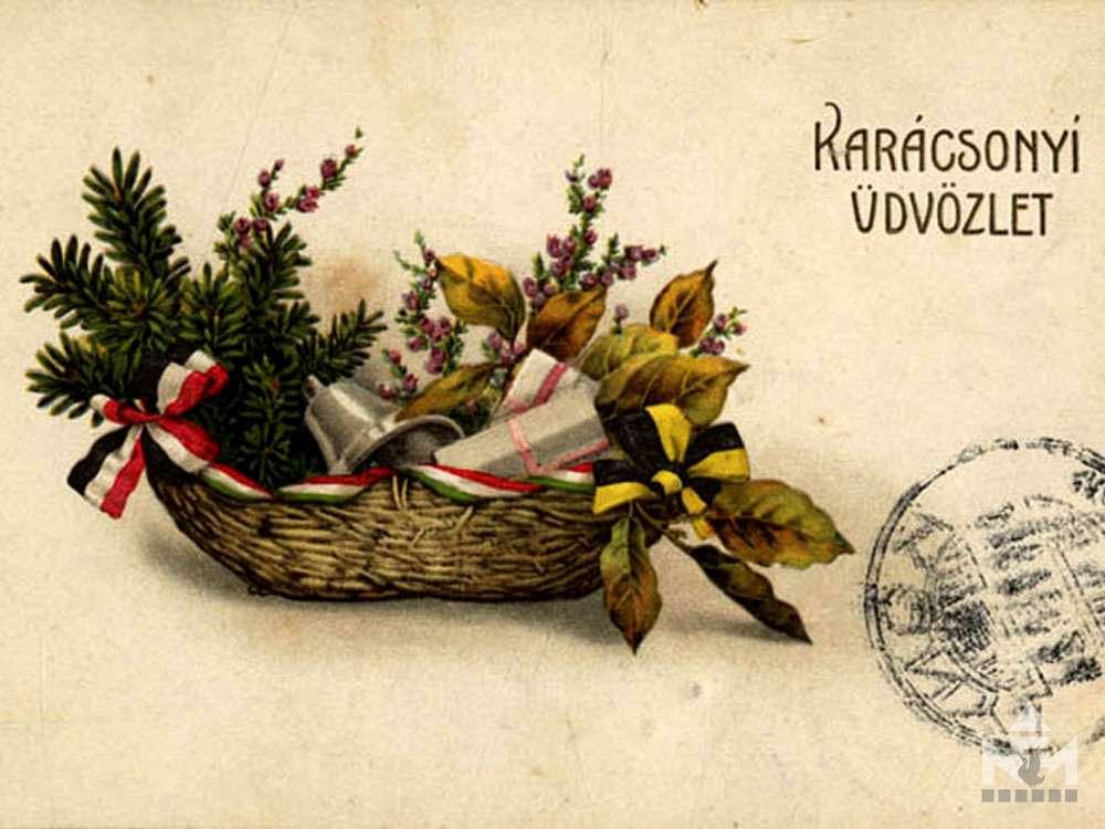 Háborús képeslap a Nádasdy Ferenc Múzeum gyűjteményéből