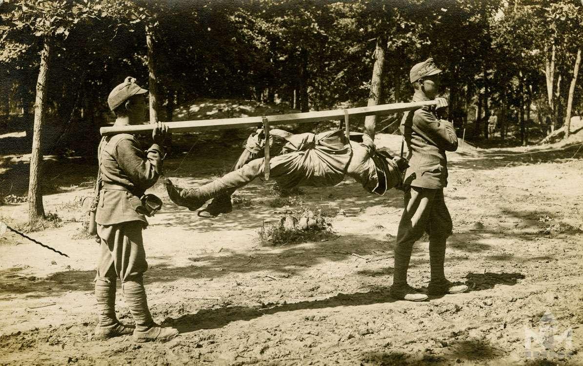 Első világháborús fényképfelvétel a sárvári múzeum gyűjteményéből (ltsz. NFM TD 2016.57.282)