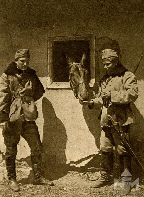 Első világháborús fényképfelvétel a sárvári múzeum gyűjteményéből (ltsz. NFM TD 2016.57.389)