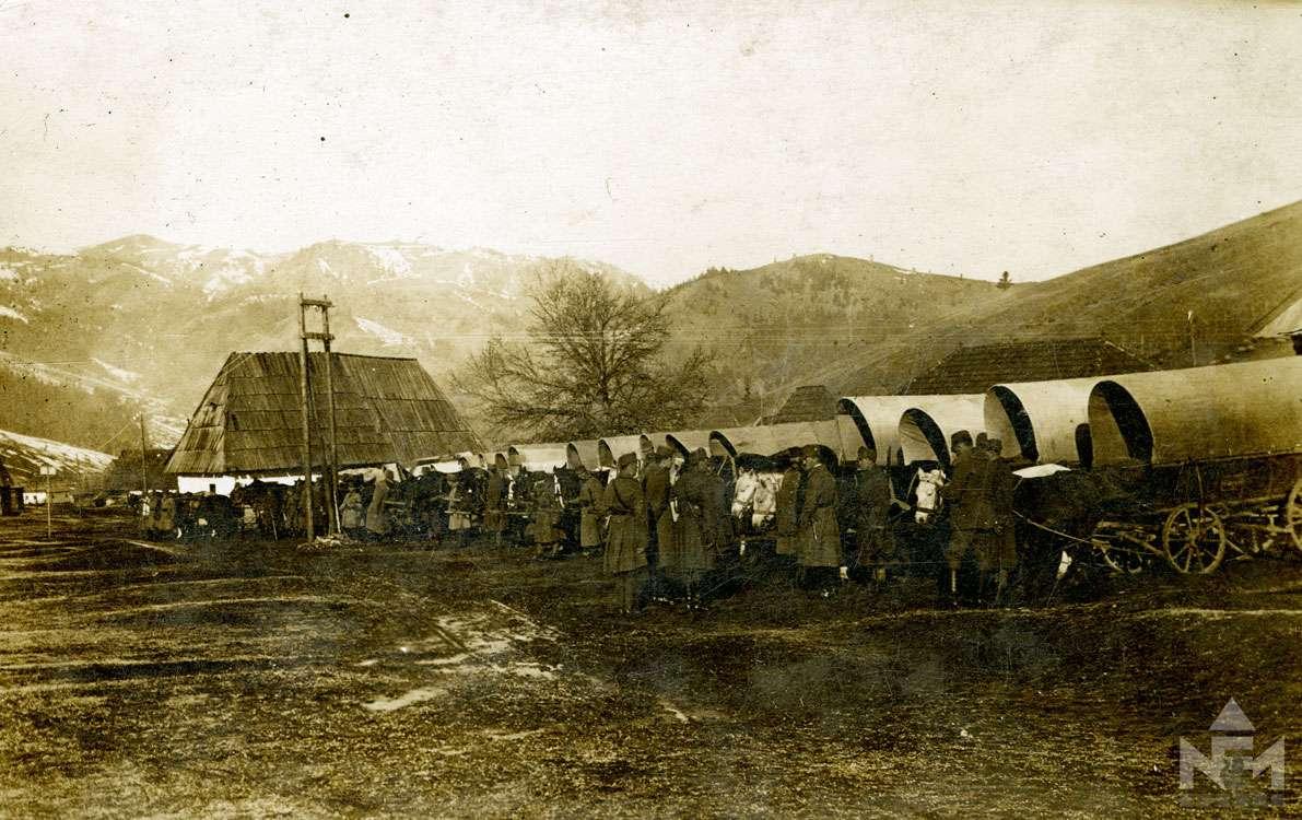 Első világháborús fényképfelvétel a sárvári múzeum gyűjteményéből (ltsz. NFM TD 2016.57.384)