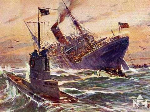 A befagyott hónap. 1917. február