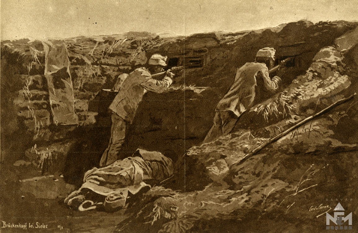 Képeslap részlet (Nádasdy Ferenc Múzeum ltsz. NFM VII.83.45.64)