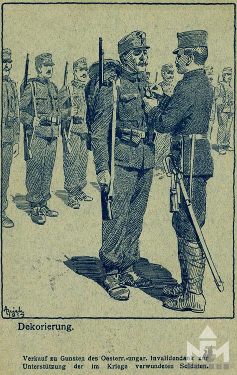 Képeslap részlet (Nádasdy Ferenc Múzeum ltsz. NFM VII.83.45.81)