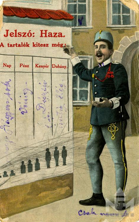 A Nádasdy Ferenc Múzeum képeslapgyűjteményéből, ltsz. 66.47.120.