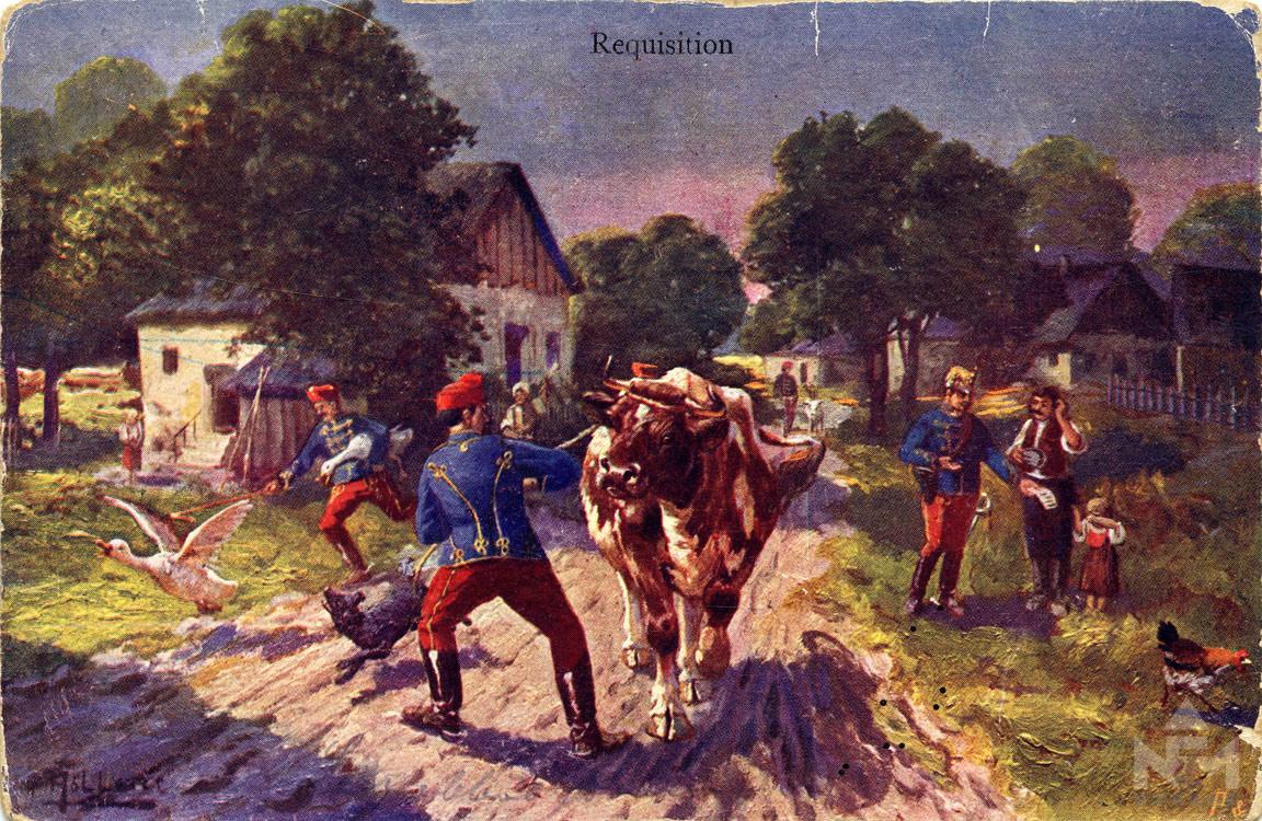 A Nádasdy Ferenc Múzeum képeslapgyűjteményéből, ltsz. 66.47.456.