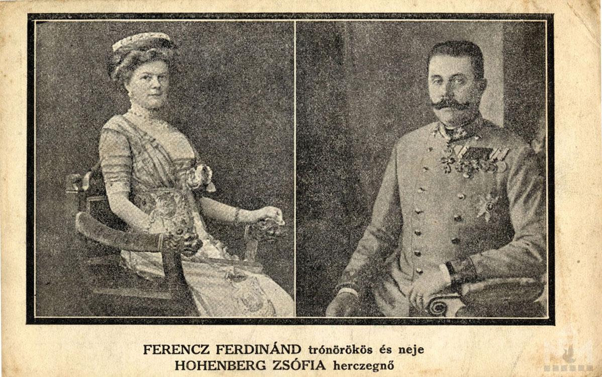 Első világháborús képeslap. Leltári száma: NFM-T66.47.705