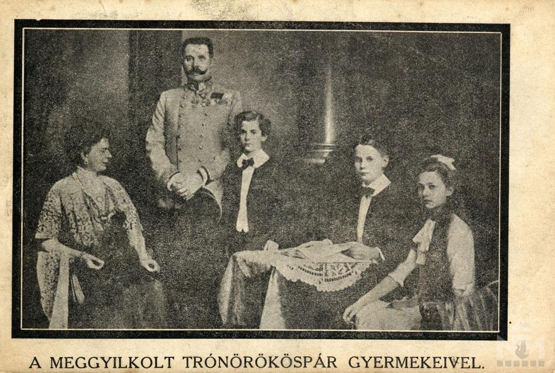 Első világháborús képeslap. Leltári száma: NFM-T 66.47.704