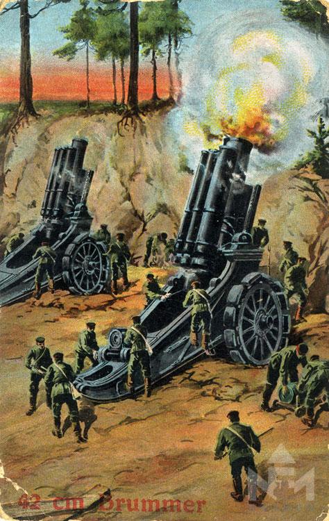 Első világháborús képeslap. Leltári száma: NFM-T 66.47.512