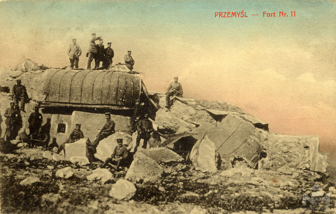 Első világháborús képeslap.Leltári száma: NFM-T 66.47.431